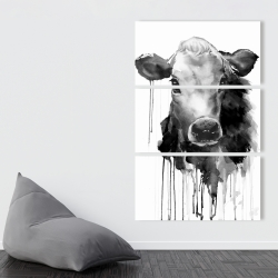Canvas 40 x 60 - Jersey cow