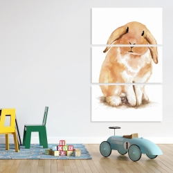 Canvas 40 x 60 - Lop-rabbit