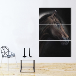 Canvas 40 x 60 - Loneliness horse