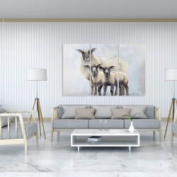 Canvas 40 x 60 - Sheep family