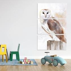 Canvas 40 x 60 - Barn owl