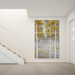 Canvas 40 x 60 - Birch forest