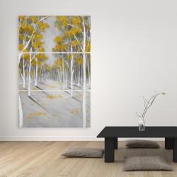 Canvas 40 x 60 - Yellow birch forest