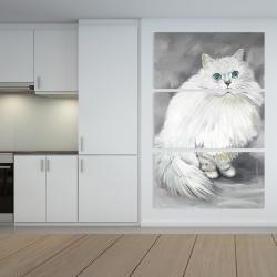 Canvas 40 x 60 - Chinchilla persian cat