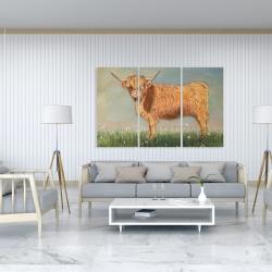 Canvas 40 x 60 - Daisy the highland cow