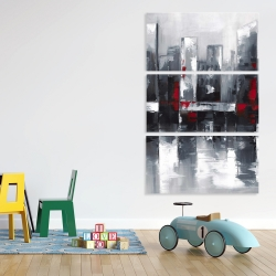 Canvas 40 x 60 - Abstract cityscape