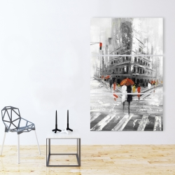 Canvas 40 x 60 - Greyish flatiron building