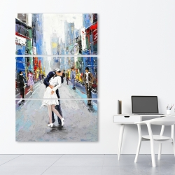 Canvas 40 x 60 - Kiss of times square