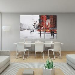 Canvas 40 x 60 - Classic street scene