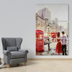 Canvas 40 x 60 - Couple walking