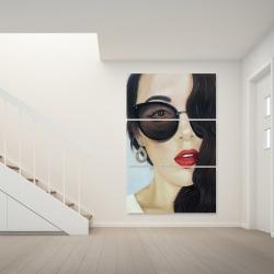 Canvas 40 x 60 - Fashionable sunglasses