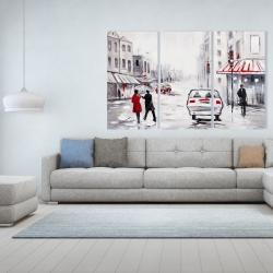 Canvas 40 x 60 - Peaceful street scene