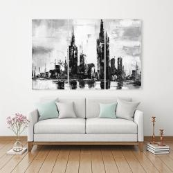 Canvas 40 x 60 - Mono urban cityscape
