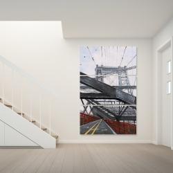 Canvas 40 x 60 - Bridge architecture
