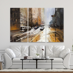 Canvas 40 x 60 - Abstract city street