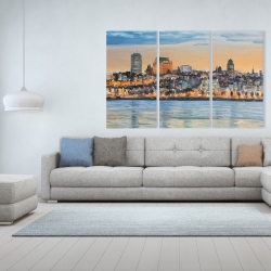 Canvas 40 x 60 - Skyline of quebec city