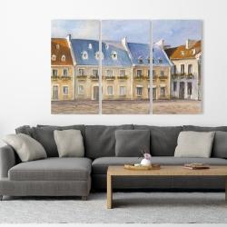 Canvas 40 x 60 - Old quebec city