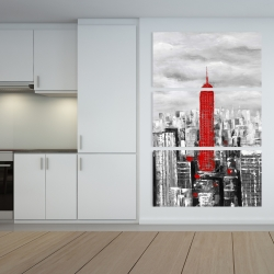 Canvas 40 x 60 - Empire state building of new york