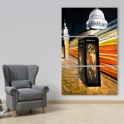 Canvas 40 x 60 - Fast london bus