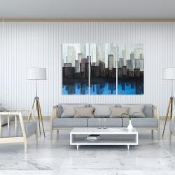 Canvas 40 x 60 - Blue city