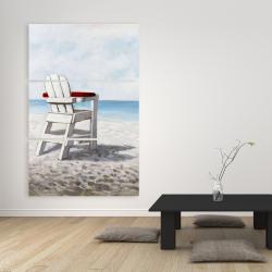 Canvas 40 x 60 - White beach chair
