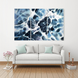 Canvas 40 x 60 - Stormy waves of the sea