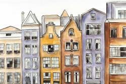 Amsterdam houses hotel