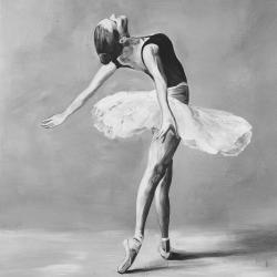 Classic ballet dancer