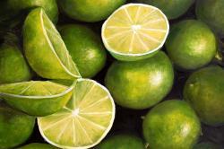 Basket of limes