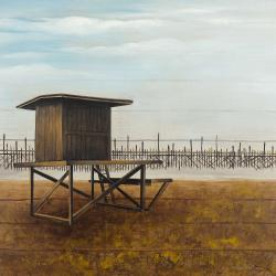 Newport beach lifeguard tower