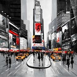 New york city busy street
