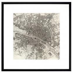 Vue satellite de la ville