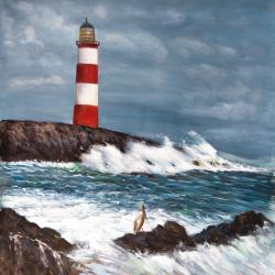 Lighthouse at the edge of the sea unleashed