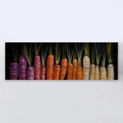Carottes colorées