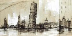 Pise tower sketch