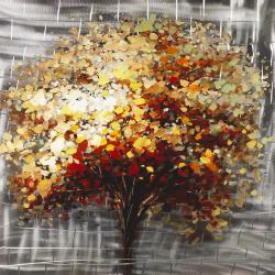 Arbres abstrait d'automne