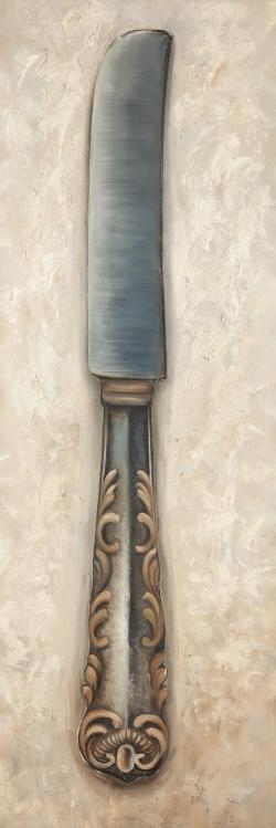 Vintage butter knife