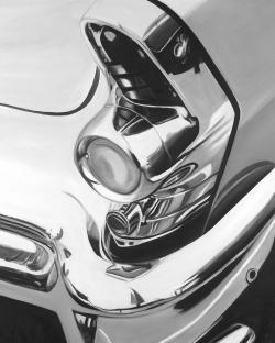 Magnifique voiture lustrée