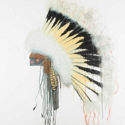 Amerindian headdress