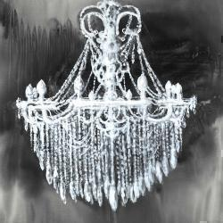 Big glam chandelier