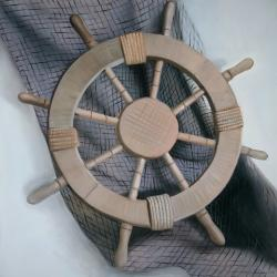 Helm on a fishing net
