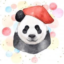 Artist panda