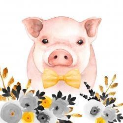 Chic pig