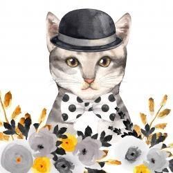 Chic cat