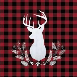Deer plaid