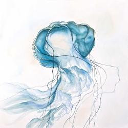 Jellyfish moving