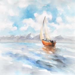 Paysage de voilier