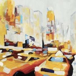 Yellow taxi traffic in nyc