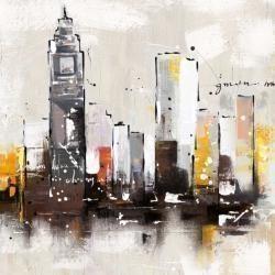 Artistic cityscape