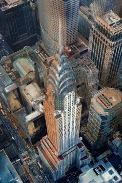 Chrysler building at nyc